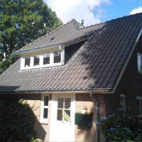 Isoleren en vervangen pannendak bestaande woning
